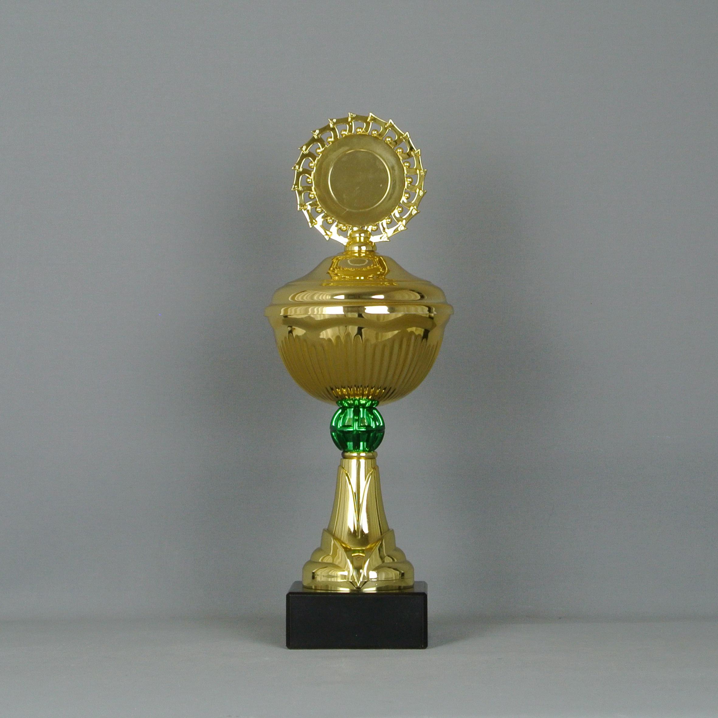 S617 / Pokal / 6er Serie / gold grün - HR Pokale